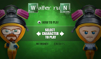 Screenshot of Walter Run Breaking Bad