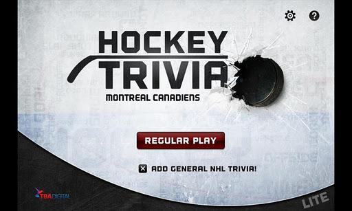 Hockey Trivia Lite-Canadiens
