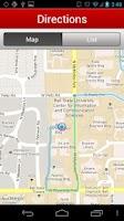 Screenshot of Ball State University Map