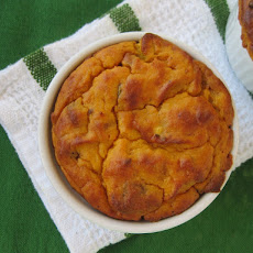 Thanksgiving Savory Bacon Butternut Squash Souffle