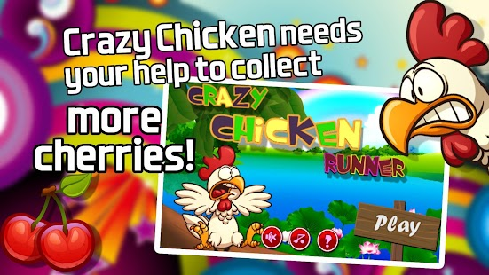 Crazy Chicken PRO - screenshot