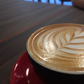 Flat white by Chang Cw - Food & Drink Alcohol & Drinks ( coffee )