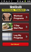 Screenshot of Men's Health Trainer Lite