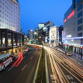 akasaka by Kadek Lana - City,  Street & Park  Street Scenes ( akasaka, japan, tokyo,  )