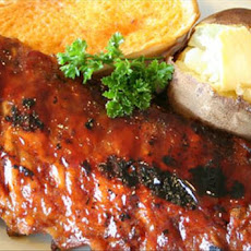 Spicy Honey Mustard Baby Back Ribs