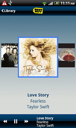 my-music-anywhere-best-buy for android screenshot