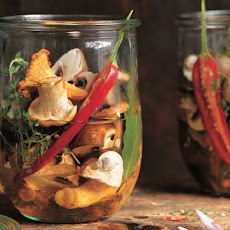 How to Make Marinated Mushrooms