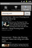 Screenshot of News4Mobile (Đọc báo-Tin tức)