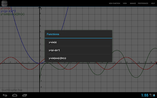 Screenshot of touchGrapher