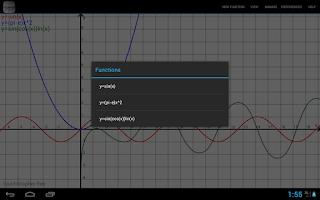 Screenshot of touchGrapher
