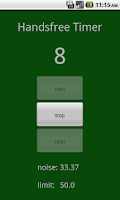 Screenshot of Handsfree Timer