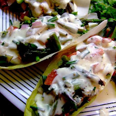 Cool Endive Boats Salad