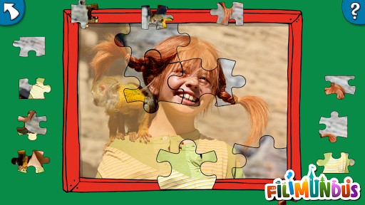 Pippis Jigsaw Puzzle - screenshot