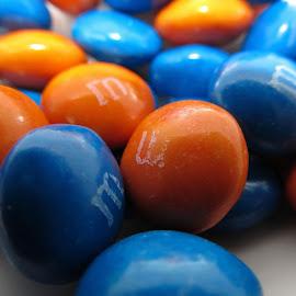 BLUE&ORANGE  by Ljiljana Pejcic - Food & Drink Candy & Dessert ( blue, orange. color )