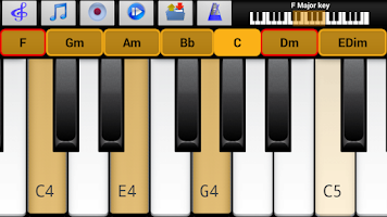 Screenshot of Piano Scales Chords Jam Pro