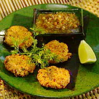 Thai Fish Cakes with Cucumber Dipping Sauce - sponsored by Singha Beer