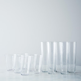 Etched Botanical Glasses