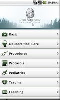 Screenshot of Neurosurgery Survival Guide