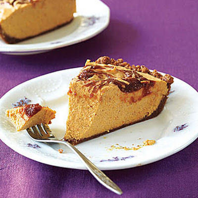 Apple Butter-Pumpkin Pie