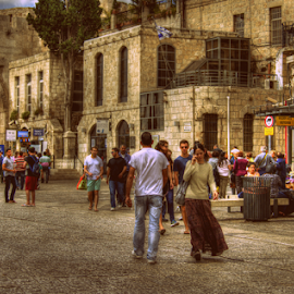 Jerusalem by Yuval Shlomo - City,  Street & Park  Historic Districts