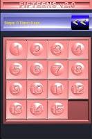 Screenshot of Fifteens v2.0