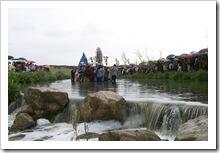 Imagen de archivo del encuentro en el río Tirteafuera.