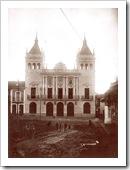 Imagen del Ayuntamiento, el día de su inauguración.