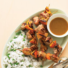 Pan-Grilled Pork Kebabs