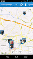 Screenshot of MapBook Social Friends Finder