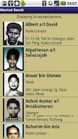 Screenshot of Malaysia Most Wanted