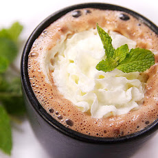 Tequila Mint Hot Chocolate