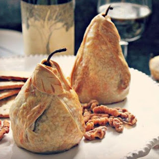 Stuffed And Baked Pear Dumplings