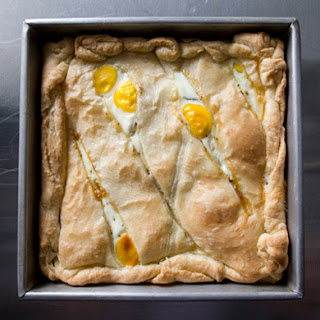Egg, Potato, and Prosciutto Pie