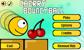 Screenshot of Cherry BouncyBall