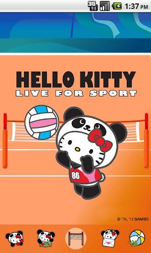 Hello Kitty Volleyball Theme
