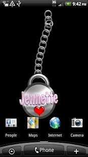 Jennette Name Tag - screenshot