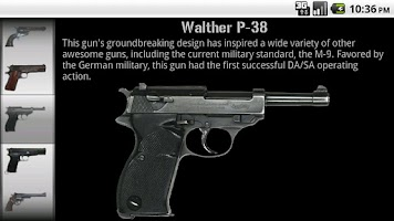 Screenshot of Gun Gallery