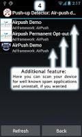 Screenshot of AirPush Ads Detector