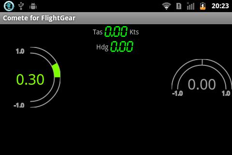 Comete for FlightGear Beta