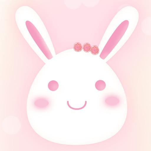 个人化のカカオトック 3.0 テーマ : 春ウサギ LOGO-記事Game
