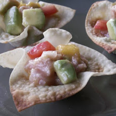 Ceviche With Ahi Tuna