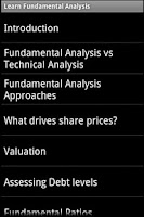 Screenshot of Stocks Fundamental Analysis