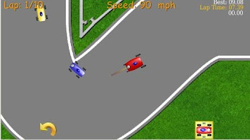 Screenshot of 2D Tiny Car Racing Lite