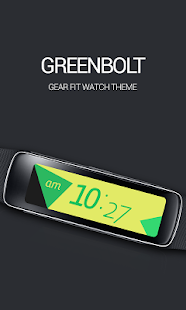 Greenbolt Clock Screenshot