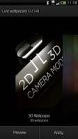 Screenshot of HTC EVO 3D Wallpaper Picker