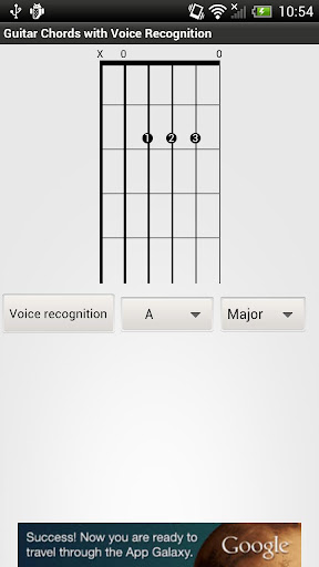 Guitar chords - open position
