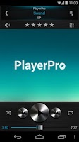 Screenshot of PlayerPro Skin Dark Metal