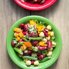 Speedy Three-Bean Salad