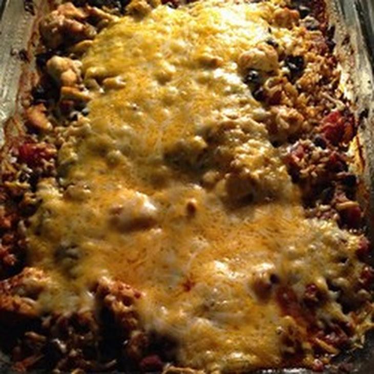 Chicken and Black Bean Casserole Recipe | Yummly
