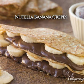 Nutella Banana Crepes